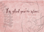 I'm Glad